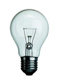 Lampada Incandescente GLS Goccia Standard 200W