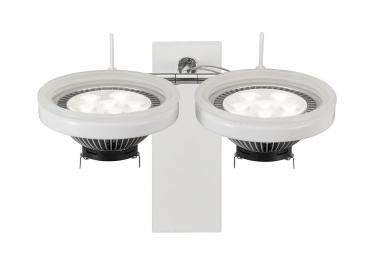 Lampada da parete LED Nota W2 Bianco 2x10W 1600 lumen - 1