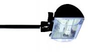 Proiettore per esterno Virgola Parete Fluo 2x18W - Cod. 31027