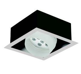 Faretti orientabili LED Nota RC 1 27W - Cod. 362124/C