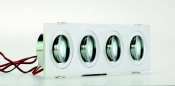 Faretti da incasso orientabili LED Colonia 4 R move 4W - Cod. 90.019/012