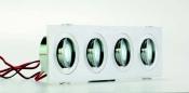 Faretti da incasso orientabili LED Colonia 4 R move 4W - Cod. 90.019/01