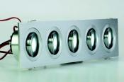 Faretti da incasso orientabili LED Colonia 5 R move 5W - Cod. 90.020/012