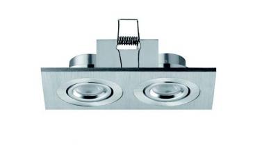 Faretti da incasso orientabili LED Colonia 2 move 2W - Cod. 90.043/012