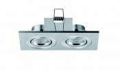 Faretti da incasso orientabili LED Colonia 2 move 2W - Cod. 90.043/01