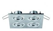Faretti da incasso orientabili LED Colonia 4 move 4W - Cod. 90.045/012