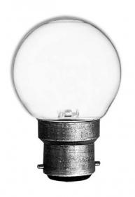 Lampada Incandescente GLS Sfera B22 20W - 1