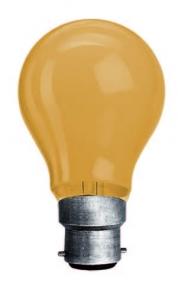 Lampada Incandescente GLS Goccia Anti-insetti 100W - 1