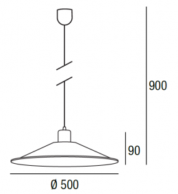 Lampada a sospensione Garret max 60W  - 3