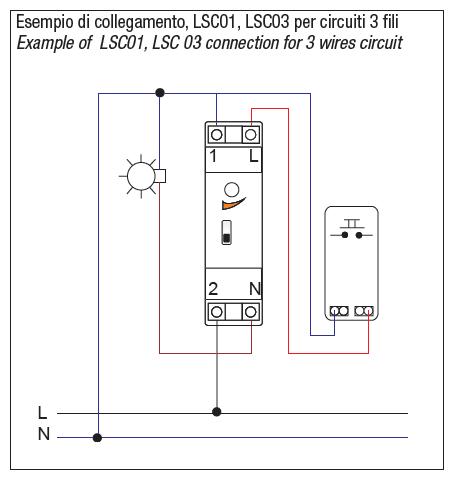 Relè Luce Scale 3 E 4 Fili Lsc01 Cod Rn0716 Relco Online Store