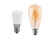 Piccola Pera E14 e Lampada ST64 E27
