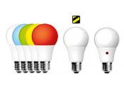 RGB, Emergenza Black Out, Sensore Crepuscolare E27