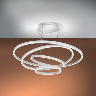 AURA S 4 anelli LED Bianca - 1