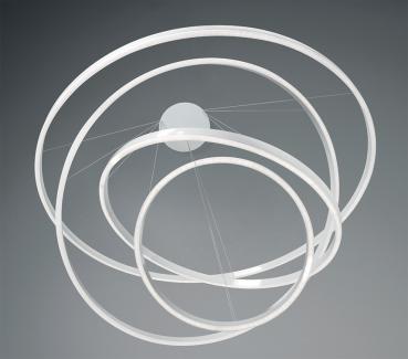 AURA S 4 anelli LED Nera - 5